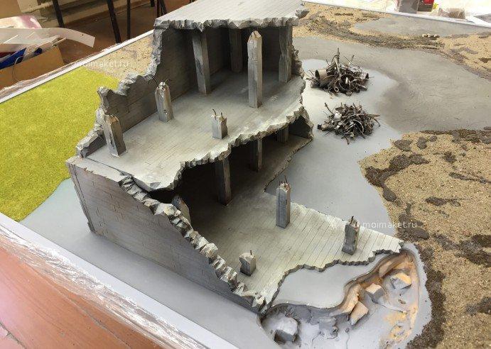 бетон макет